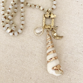 Spiral Shell Necklace