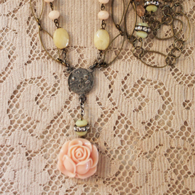 Winter Rose Necklace