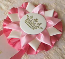 Birthday Girl Rosette {pink}